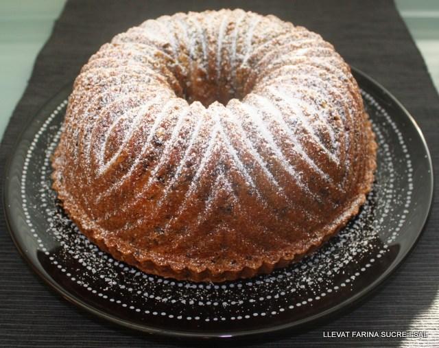 BUNDT CAKE AMB PERLES DEXOCOLATA
