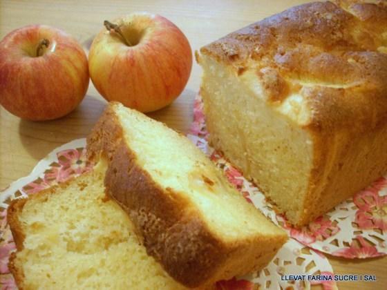PLUM CAKE DE POMA SENSEGLUTEN