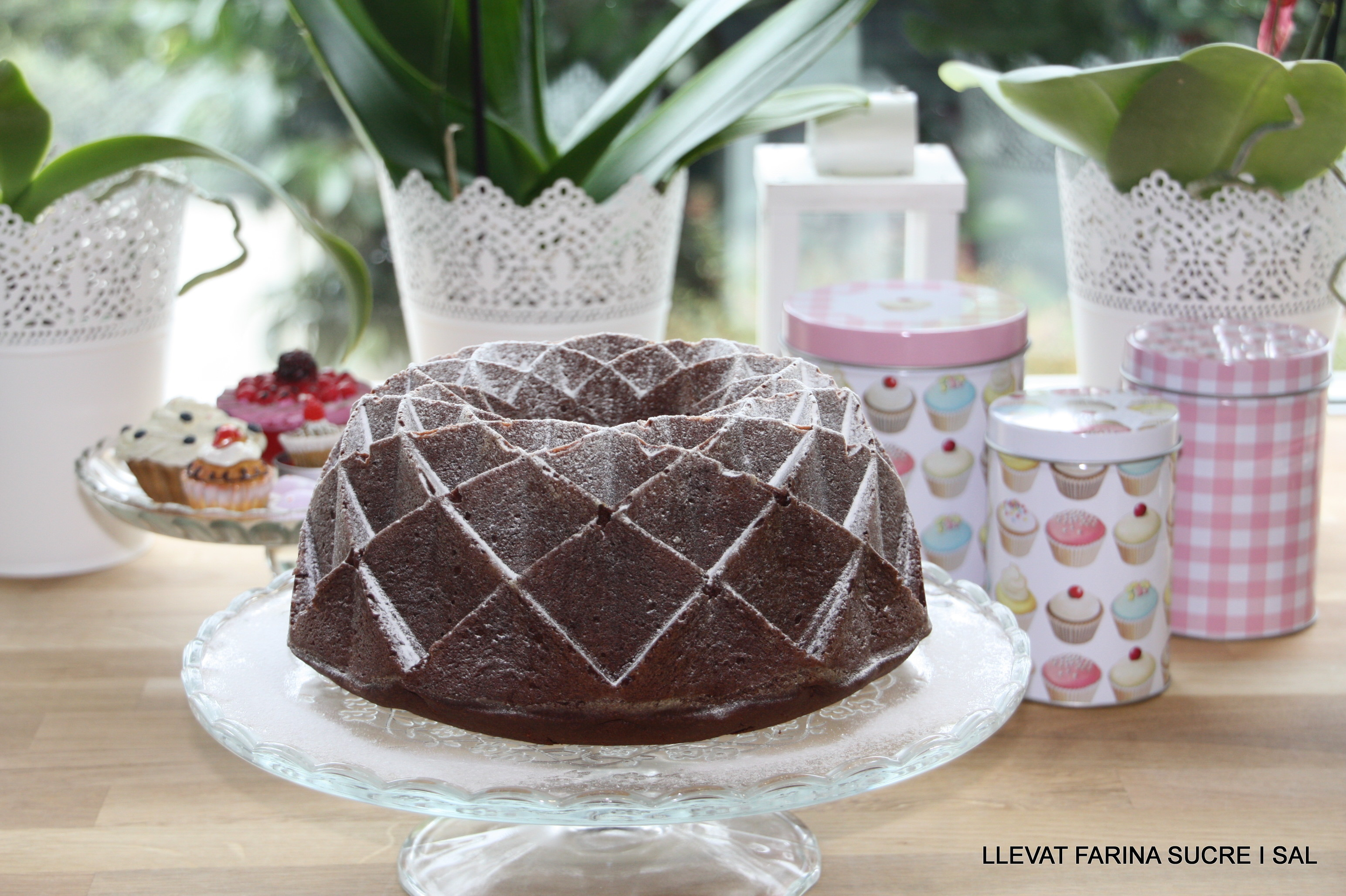 BUNDT CAKE DE XOCOLATA I CRÈMEFRAÎCHE