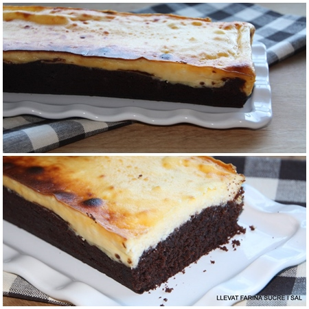 BROWNIE & CHEESECAKE